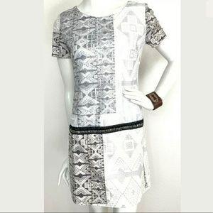🎈CUSTO BARCELONA Sequin animal print dress
